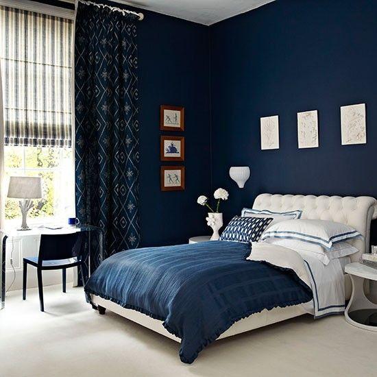 Modrá ložnice