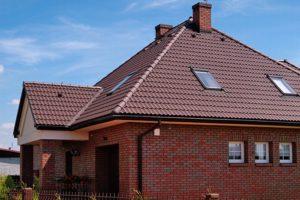 Betonová taška střecha
